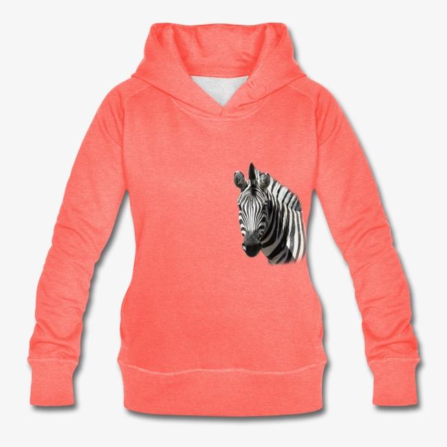 DamenHoodie_koralle_Zebra2