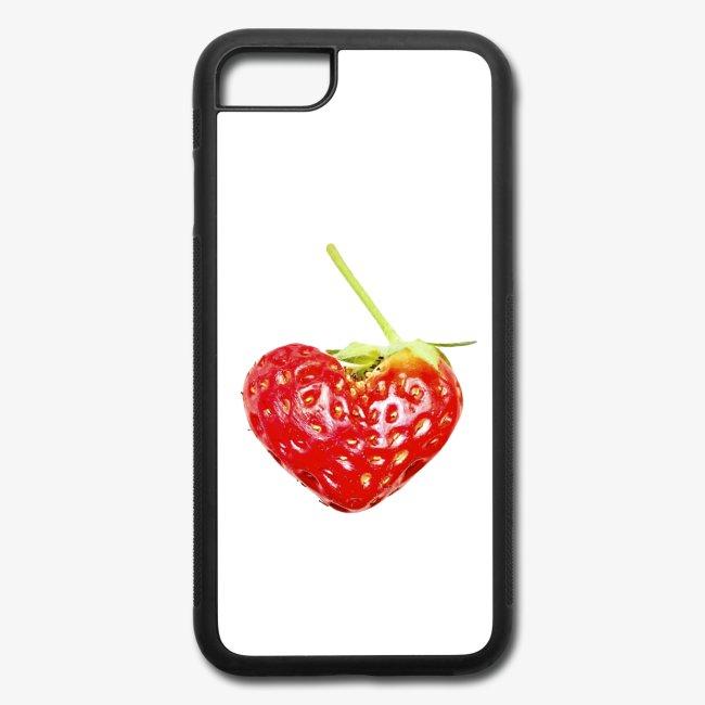 Iphone7+8Case_Erdbeerherz