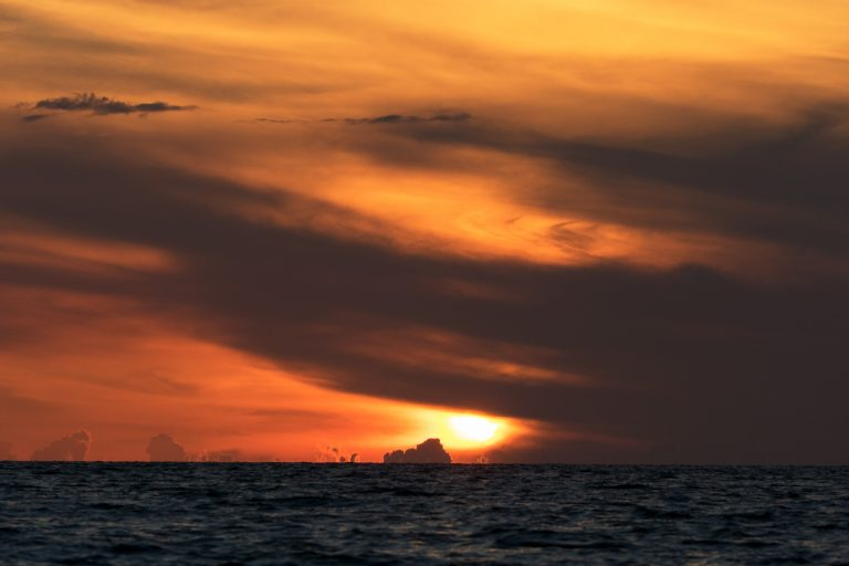 Akzeptanz; Sonnenuntergang, Florida