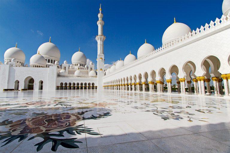 Akzeptanz; Sheikh Zayed Moschee in Abu Dhabi